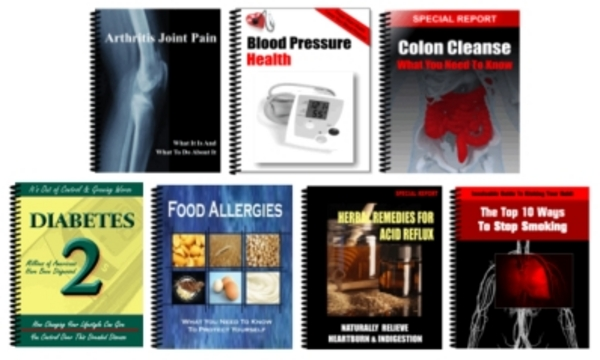 Pay for * 7 Hot * Health Related Niche Reports With MRR