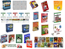 Pay for Christmas Package Graphics Galore Autoresponder Email Ebooks