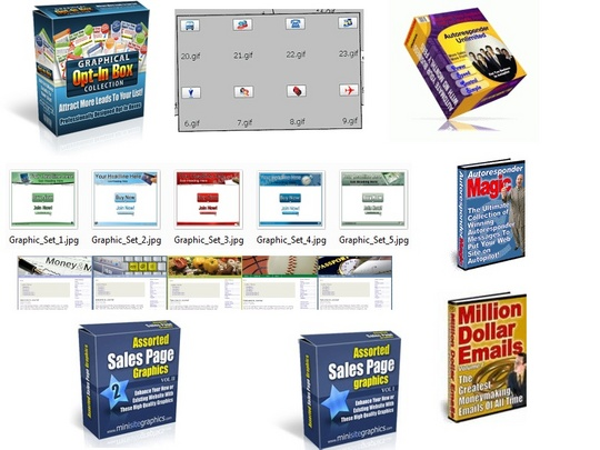 Pay for Graphics Galore 2009 Plus AutoResponder Unlimited