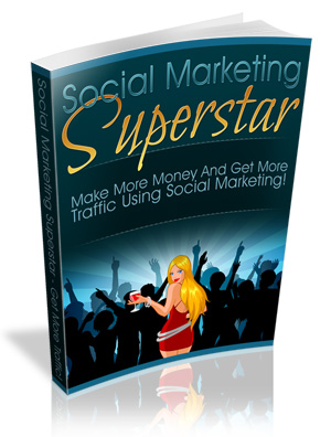 Pay for Social Marketing Superstar Ebook And 14 Videos  MRR