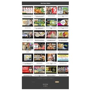 Pay for Diet Plans Instant Mobile Video Site