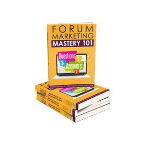 Pay for Forum Marketing Mastery 101