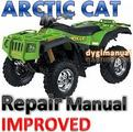Thumbnail ARCTIC CAT ATV 2004  V-Twin 650 REPAIR MANUAL [IMPROVED]