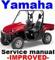 Thumbnail YAMAHA ATV RHINO YXR 660 2004 2005 FACTORY REPAIR MANUAL -IMPROVED-