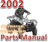 Thumbnail Arctic Cat 2002 ATV 400 500 MANUAL TRANSMISSION FIS 400 4X4 RED [Parts Manual]