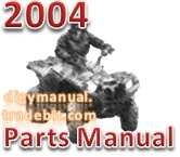Thumbnail Arctic Cat 2004 ATV 50 Y 6 YOUTH CAT GREEN A2004ATA2BUSZ [Parts Manual]