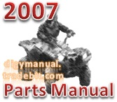 Thumbnail Arctic Cat 2007 ATV 650 H1 AUTOMATIC TRANSMISSION 4X4 TRV RED  [Parts Manual]