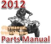 Thumbnail Arctic Cat 2012 ATV 700 DIESEL GREEN A2012TBT4DUSG [Parts Manual]