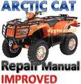 Thumbnail ARCTIC CAT ATV 2007 Diesel 700 REPAIR MANUAL [IMPROVED]