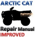 Thumbnail ARCTIC CAT ATV 2009 400 500 550 700 1000 Thundercat Service Repair Manual [IMPROVED]