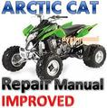 ARCTIC CAT ATV 2006 Dvx 400 REPAIR MANUAL [IMPROVED]
