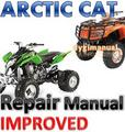 ARCTIC CAT ATV 2006 Dvx / Utility 250  REPAIR MANUAL +IMROVED