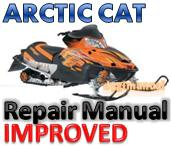Thumbnail ARCTIC CAT 2008 2-Stroke SNOWMOBILE SERVICE REPAIR MANUAL [IMPROVED]