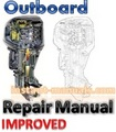 Johnson Evinrude 1958-1972  50-125hp Outboard Repair Manual [Improved]