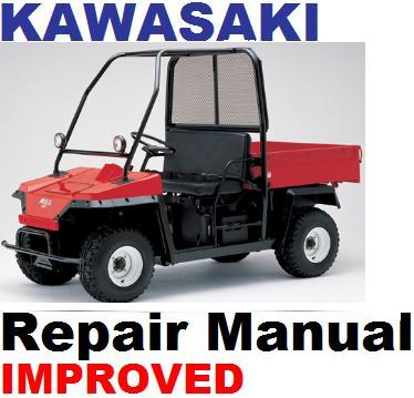 Thumbnail KAWASAKI  ATV 1991 - 1998 KAF 450 Mule 1000 REPAIR MANUAL + IMPROVED