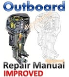 Mercury  40 / 50 / 60 Hp EFI  4 Stroke  Outboard Repair Manual [Improved]