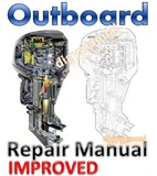 Thumbnail Mercury Mariner  40 / 45 / 50 / 50 Bigfoot  4-Stroke Outboard Repair Manual [Improved]