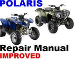 POLARIS ATV 2007 PHEONIX / SAWTOOTH SERVICE MANUAL +IMPROVED