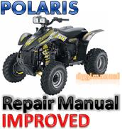 Thumbnail POLARIS ATV 2006 SCRAMBLER 500 REPAIR MANUAL  [IMPROVED]