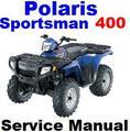 Thumbnail POLARIS SPORTSMAN 400 ATV 2001 2002 2003 SERVICE REPAIR MANUAL