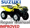 Thumbnail SUZUKI ATV 2005 - 2007 LT-A700 KING QUAD REPAIR MANUAL [IMPROVED]