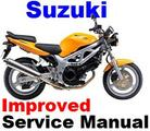 Thumbnail SUZUKI SV650 1999 - 2002 SERVICE REPAIR MANUAL & PARTS +IMPROVED