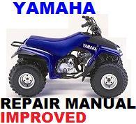 Thumbnail YAMAHA ATV   1992-2008 YFM 80 BADGET GRIZZLY RAPTOR REPAIR MANUAL +IMPROVED