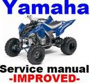 Thumbnail YAMAHA ATV YFM 700 Raptor  2006 - 2008  Factory REPAIR MANUAL -IMPROVED-