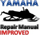 Yamaha Snowmobile 1993-2000 VK540 Service Repair Manual [IMPROVED]