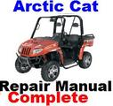 Thumbnail ARCTIC CAT UTV 2006 Prowler Service REPAIR MANUAL -Complete-