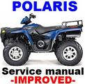 Thumbnail POLARIS ATV 2003 SPORTSMAN 400 500 H.O.  REPAIR MANUAL +IMPROVED