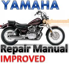 Thumbnail YAMAHA VIRAGO XV700 750 920 1100  1981-1999  SERVICE REPAIR MANUAL +IMPROVED