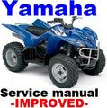 Thumbnail YAMAHA YFM 350 FX (C) 1995-2007 Wolverine Service Repair Manual -IMPROVED-