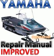 Thumbnail Yamaha Snowmobile 1982-2009 Bravo  250 Repair Manual [IMPROVED]