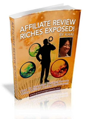 Affiliate Review Riches Exposed Online Money Making