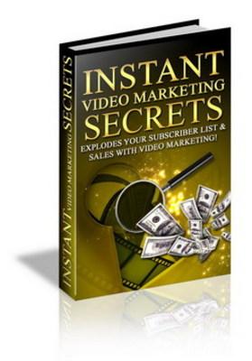 Pay for Instant Video Marketing Secrets-Video Marketing Secrets