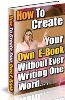 Thumbnail How Create Your Own E-book