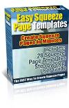 Thumbnail Easy Squeeze Page Templates - Master Resale Rights