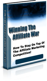 Pay for Winning The Affiliate War - Private Label Rights