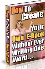 Pay for How Create Your Own E-book