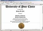 Thumbnail Diploma Drs Diploma Creation Software