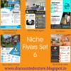Thumbnail Niche Flyers Set 6