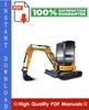 Thumbnail CASE CX40B, CX50B HYDRAULIC EXCAVATOR Workshop Service Repair Manual