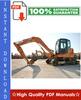 Thumbnail CASE CX75SR, CX80 CRAWLER EXCAVATORS Workshop Service Repair Manual