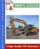 Thumbnail CASE CX160 CRAWLER EXCAVATORS Workshop Service Repair Manual