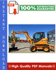 Thumbnail CASE WX95, WX125 WHEELED EXCAVATOR Workshop Service Repair Manual