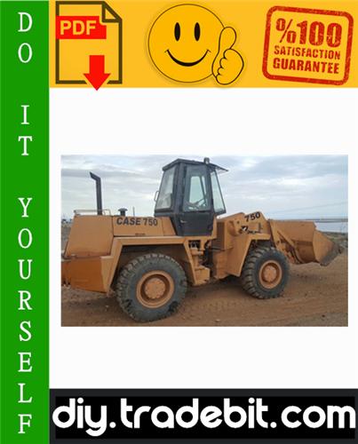 Thumbnail Case 750, 760, 860, 960, 965 Loader Backhoe Service Repair Manual Download