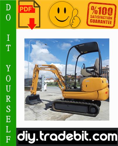Thumbnail Case CX16B, CX18B Mini Excavators Service Repair Manual Download