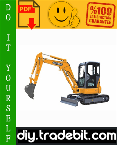 Thumbnail Case CX31B, CX36B Hydraulic Excavator Service Repair Manual Download