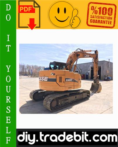 Thumbnail Case CX135SR Crawler Excavator Service Repair Manual Download